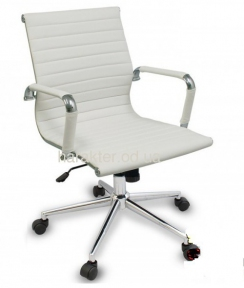 Кресло офисное Алабама MNEW, средняя спинка, хром