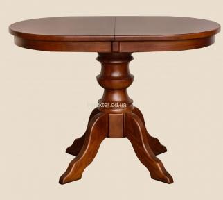 Стол раскладной Рондо деревянный круглый или овальный в классическом стиле рбк