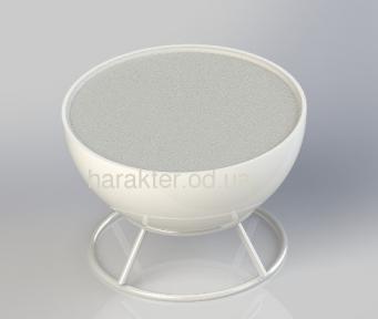 Стол из пластика с подсветкой СКМ, изделия из пластика под заказ