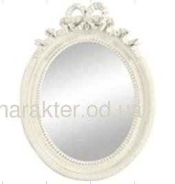Дзеркало Овал, зеркало Овал ФД 736728 - серое/ 715119 - белое