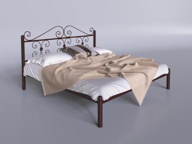 Металлическая двуспальная кровать Бегония те