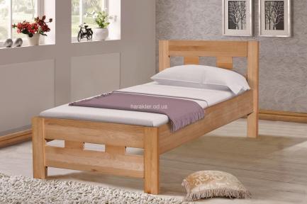 Кровать односпальная 200*90 SPACE (масив буку) мм