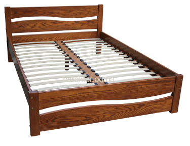 Кровать двуспальная деревянная Марта шс