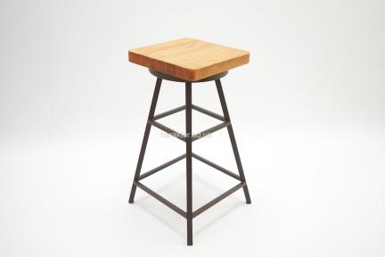 Табурет Bistro барный квадратная или круглая сидушка хк