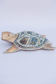 Декор Черепаха объемная, высота 30 см, ширина 20см 24005 эм