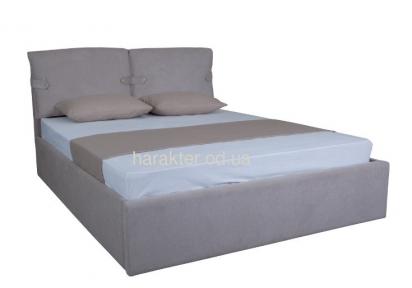 Кровать с мягкой спинкой Мишель, подъёмный механизм 120/140/160/180см