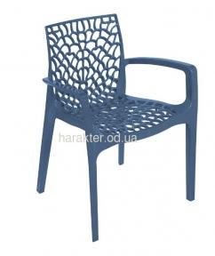 Кресло дизайнерское GRUVYER полипропилен, цвет разный кн