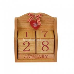 Вечный календарь PR767 натуральный, Вечный календарь белый PR777