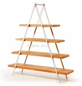 Этажерка Пирамида 28129 дерево, металл (м)