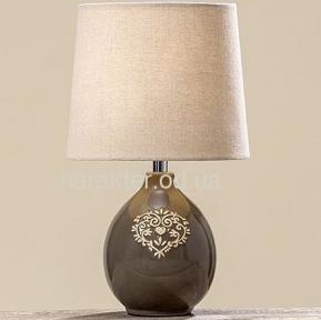 Лампа цветная керамика h34см настольная, торшер ГП 8095600