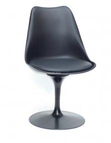 Стул Милан-Т и Милан-2Т, сиденье поворотное пластик с подушкой, основа крашенный металл