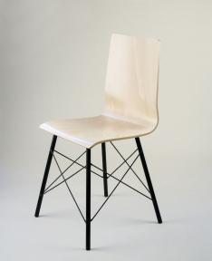 стул из гнутоклееной фанеры с креплением для сумки Рома RX ДК
