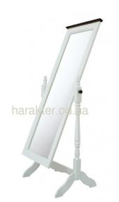 Зеркало напольное в стиле Прованс с вращающейся рамой Лион ВВ SS002299