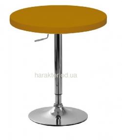 Стол барный Санни, регулируемый, д. 70 см, цвет коричневый