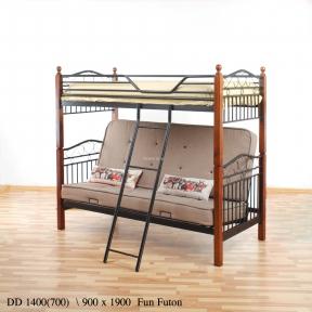 Кровать двухъярусная с диваном Fun Futon  ом