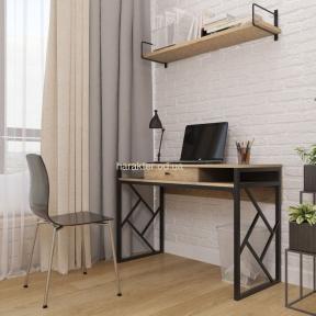 Ромбо стол рабочий компьютерный Лофт мд