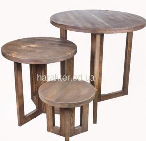 Стол круглый из дерева Бостон ВВ SS003138