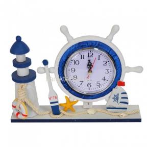 Декор-часы Штурвал MA059