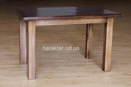 Стол кухонный деревянный Петрос раскладной (орех, венге, слоновая кость) (карпаты) мм