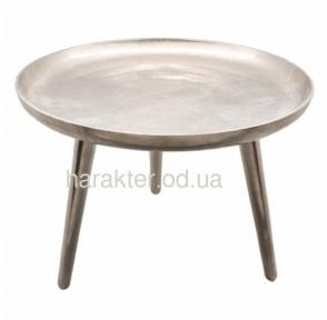 КС Журнальный столик алюминий КС 108219