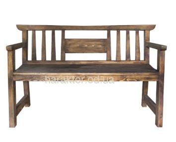 Скамейка из дерева в японском стиле Токио ВВ SS003121