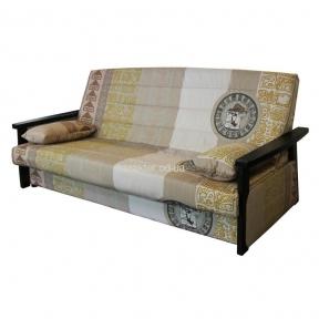 Раскладной диван Гермес (чехол, короб, подлокотники) амф