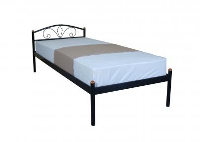 Кровать односпальная Лара (люкс) кмм