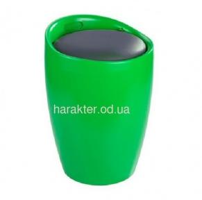 Кресло-пуф МАРИ пластиковый,  чёрный,  зелёный, белый, красный