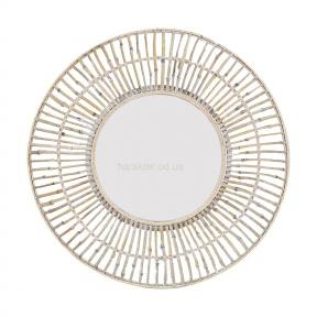 Зеркало бамбуковое 80 см 107777 кс