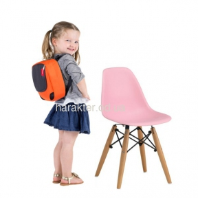 Детский стул Тауэр Вaby, пластиковый, ножки дерево бук мдс