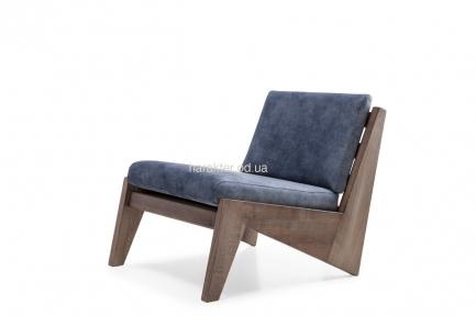 Кресло для отдыха Z деревянное с мягкими подушками мл