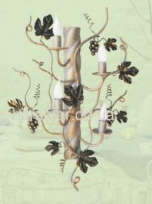Бра модель Виноград на 4 лампы или 6 ламп