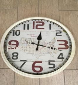 Годинник Круг метал 3720  D 45 Метал Скло фд