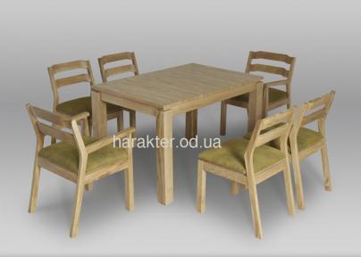 Комплекты обеденные (Столы и Стулья) Марко (дуб) мф