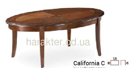 Стол журнальный деревянный California C сл