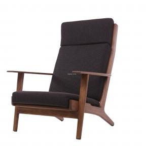 Кресло для отдыха Soul деревянное с мягкими подушками (с оттоманкой или без) мл