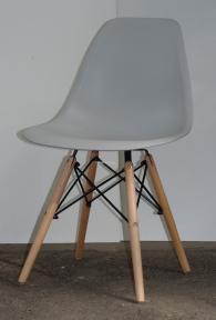 Стул пластиковый Nik-N (Ник-Н), ножки бук цвет натуральный ом