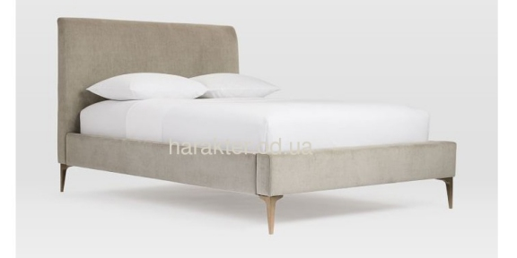 Кровать двуспальная Edison , Ліжко Edison дерево вільха (ясень) вс