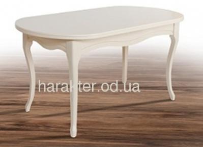 Стол обеденный Оливер раскладной белый (ультра) мм