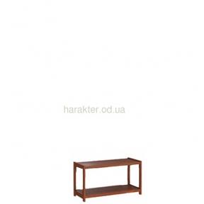 Этажерка, стеллаж деревянный Е-62-Е-66 ширина 80 см высота от 47 см до 200 см глубина 30 см
