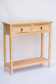 Консольный столик 25039 (2 ящика), высота 90см*25см*90см