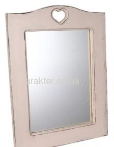 Зеркало в стиле Прованс с сердечком Марсель ВВ SS000466