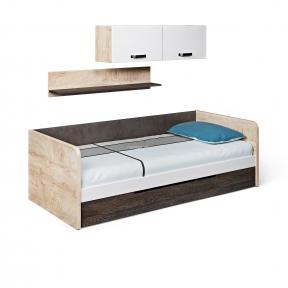 Кровать-диван подростковая, Ліжко-диван матрац 900*2000 G-11-3 950*2050*650h