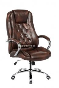 Крісло офісне Kornat brown, компьютерное кресло тсп