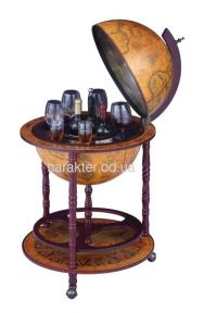 Глобус бар напольный на 3 ножках 450 мм 45001N-M, 45001R гп