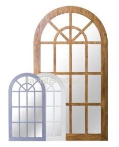 Зеркало арочное окно Чикаго ВВ SS003150