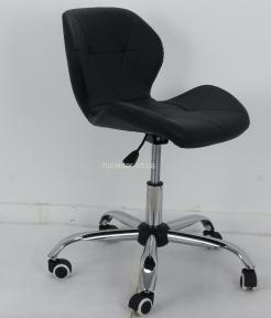 Кресло, Стул офисный Invar (Инвар, Стар нью ) ЭкоКожа (черный, белый, бежевый, серый, желтый), ножки хром