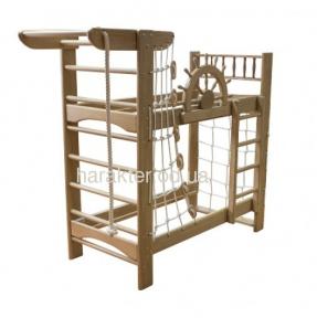 Двухъярусная кровать-спортивный уголок Пират PRO шс