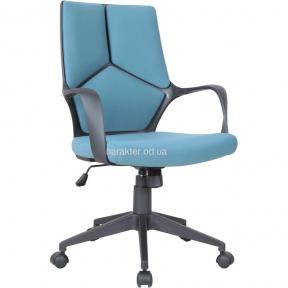 Кресло Urban LB белый, тк.черный амф