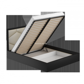 Кровать с подъемным механизмом и мягким изголовьем Tokio 160*200 вс